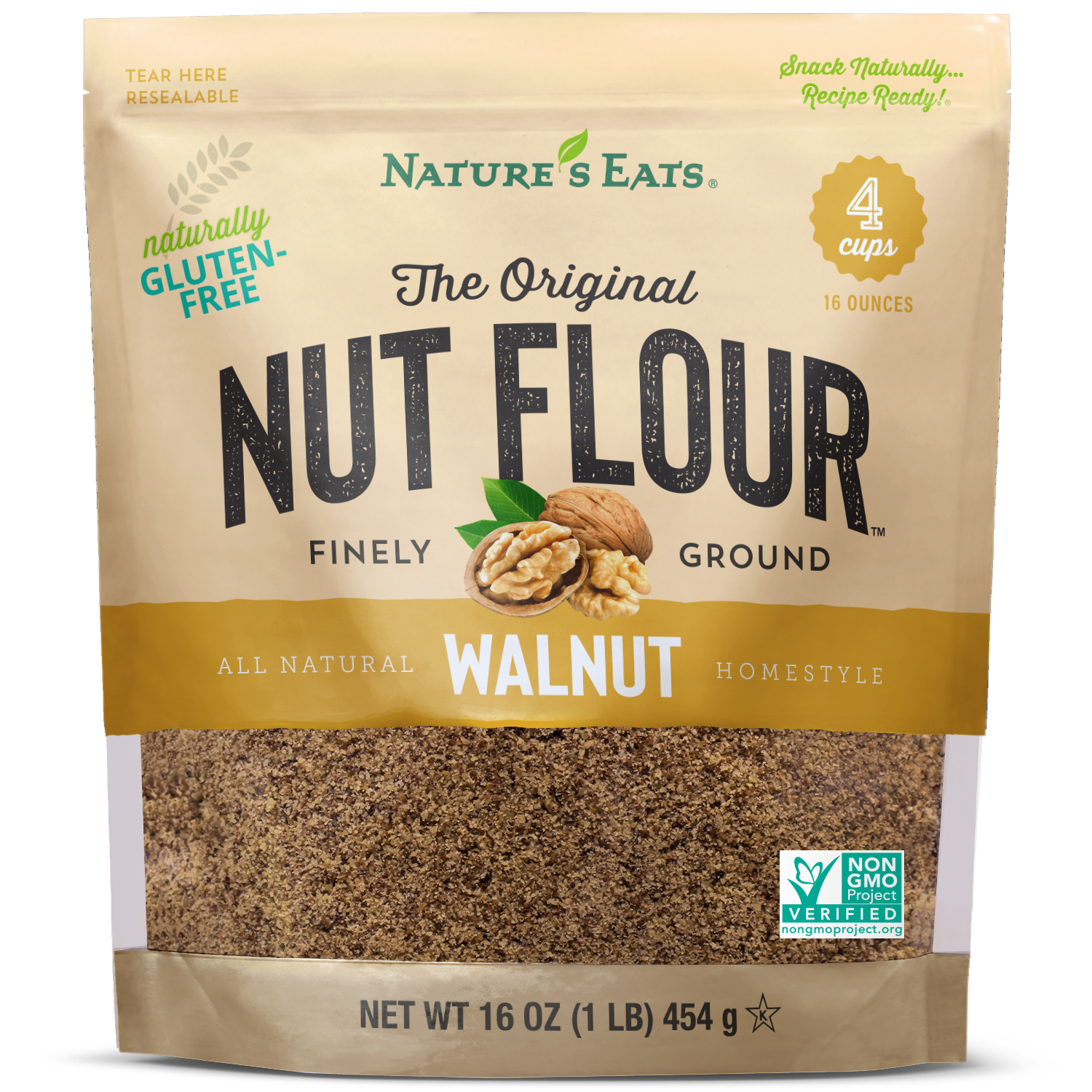 walnut flour 16 oz