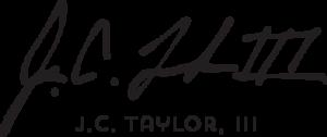 J.C. Taylor, III