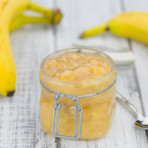 Mashed Banana as a Baking Binder