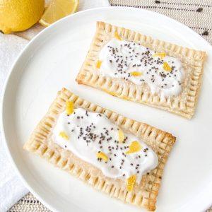 Homemade Lemon Poppyseed Pop Tart